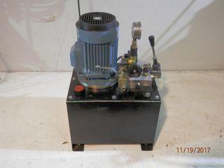 Centralita bomba hidráulica eléctrica y manual