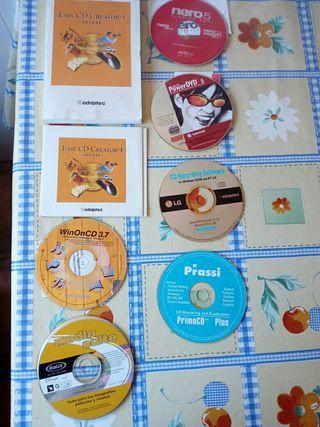 Software de grabación de CDS Y DVDS