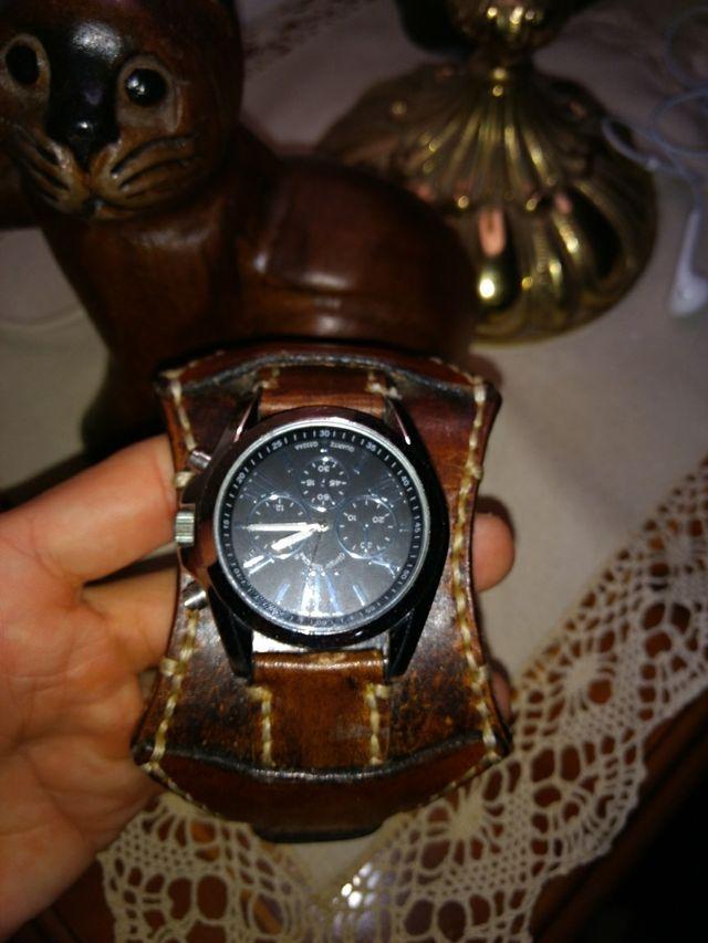 buscar el más nuevo 100% genuino mejor coleccion Reloj brazalete cuero de gran calidad de segunda mano por 25 ...