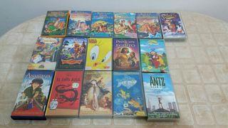VHS dibujos animados