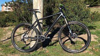 Bicicleta cannondale full Carbono 27,5