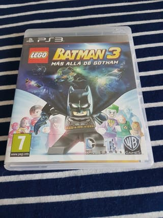 """Ps3 Lego Batman 3. """"Mas alla de Gotham"""""""