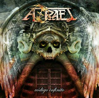 """CD Azrael """"Código Infinito"""" disco oficial"""