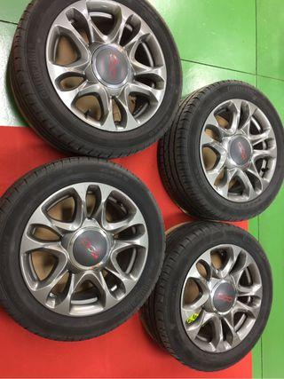 Llantas y neumáticos Fiat 500