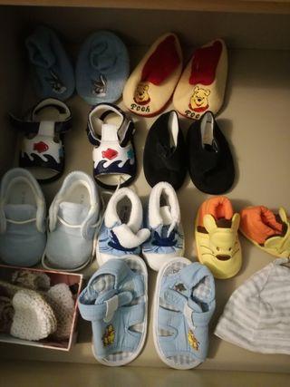 ropa, zapatos bebe