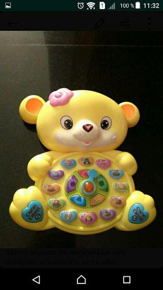juguete aprendizaje oso