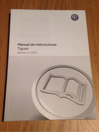 Manual intrucciones Tiguan