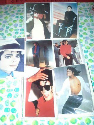 Set postales Michael Jackson