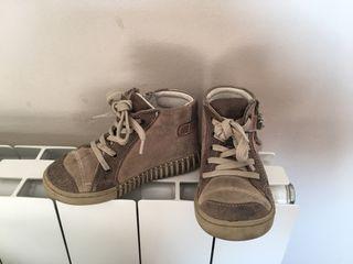 Zapatos bebe: Botines piel