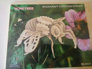 Puzle de abeja en madera para ensamblar NUEVO