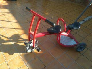 bicicleta artesanal