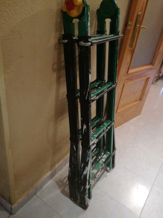 Escalera de potro extensible