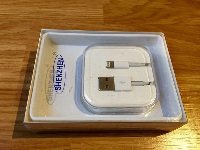 cable de carga de iphone