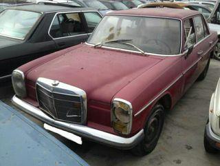 Despiece Mercedes w114