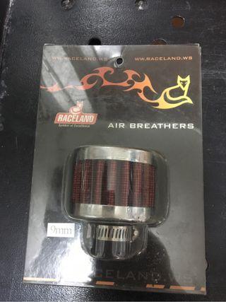 Filtros respiraderos