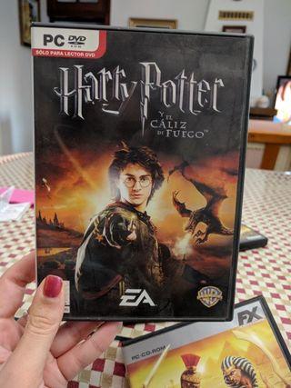 Harry Potter y el Caliz de Fuego juego pc