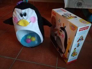 pingüino fisher price