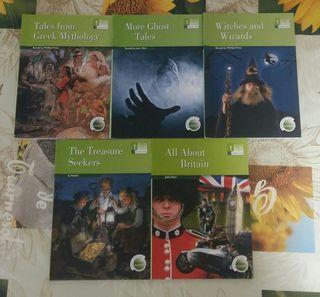 Libros lectura inglés 1°Eso