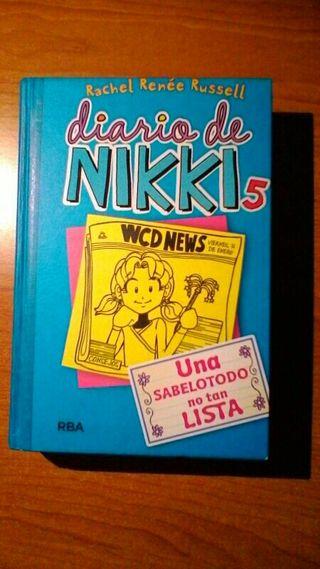 libro el diario de nikki 5