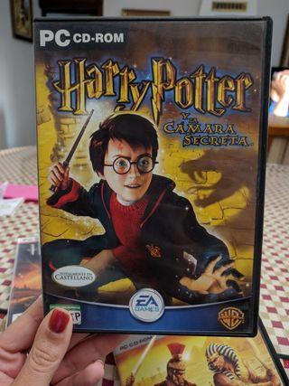 juego pc Harry Potter y la cámara secreta