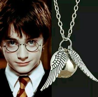Colgante de la Snitch Dorada Harry Potter