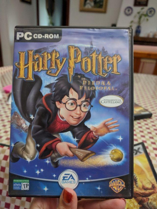 Pc Juego Harry Potter Y La Piedra Filosofal De Segunda Mano Por 5