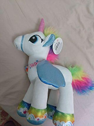 unicornio peluche