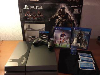 Consola ps4 edición limitada Batman