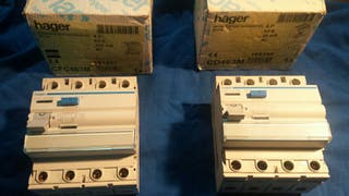 interruptor diferencial (hager)