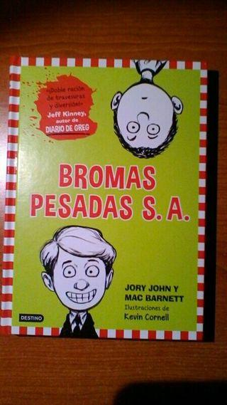 Libro Bromas pesadas s.a