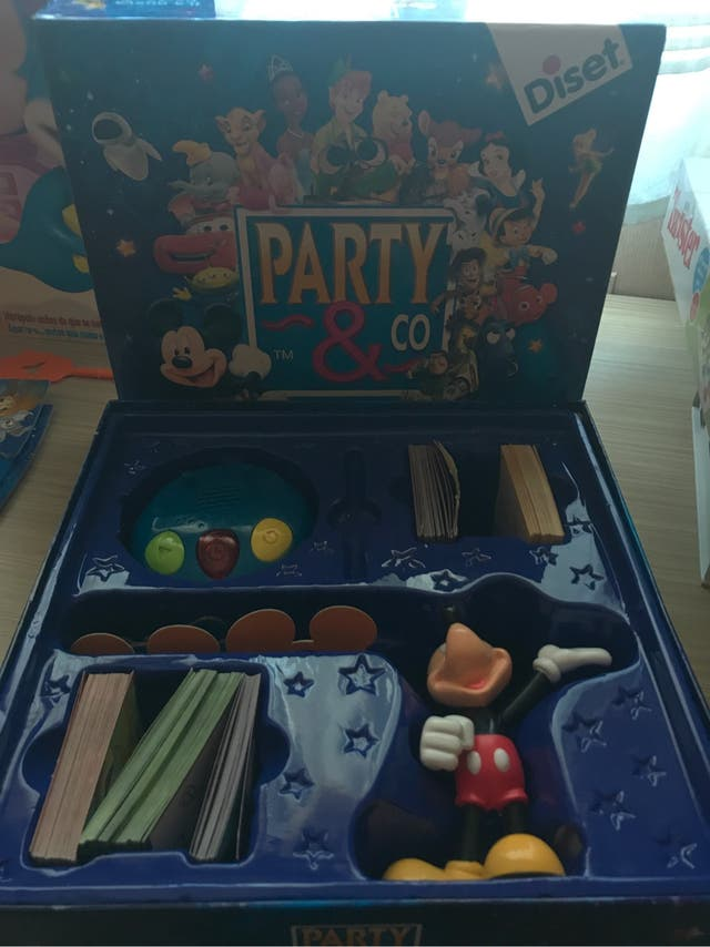 Juego party disney
