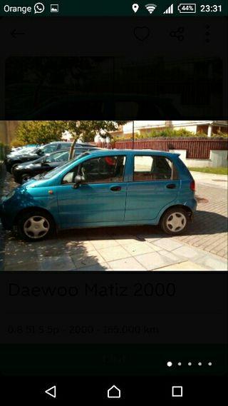 Daewoo Matiz 2000