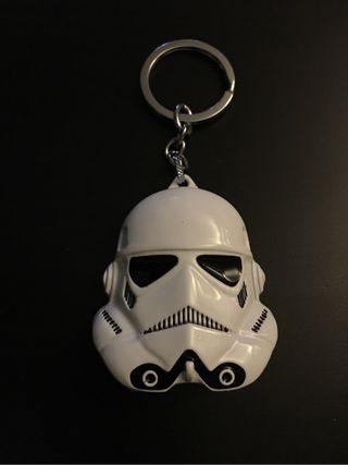 Llavero máscara soldado imperial