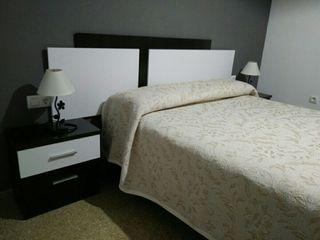 Cabecero cama + mesitas