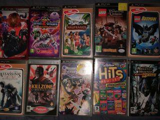 10 Juegos PSP