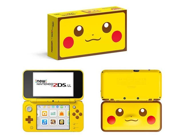 Nintendo 2DS XL pikachu pokemon Japon