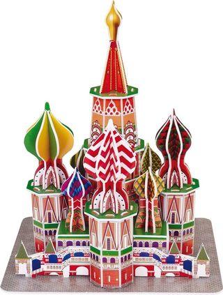 Puzzle 3D Catedral De San Basilio Moscu