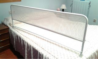 Barrera de cama abatible