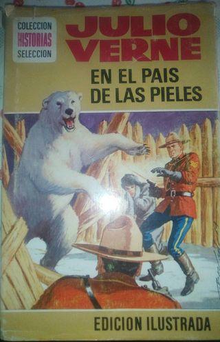 """Libro: """" En el país de las nieves"""".Julio Verne"""