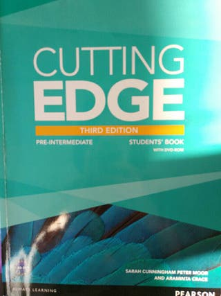 NUEVO cutting edge. Third edition, pre-intermediat