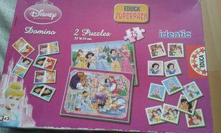 Juguete princesas dominó, identic, puzzles