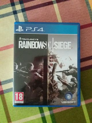 vendo juego rainbow six siege.