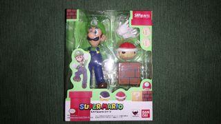 Figura SH Figuarts Luigi Super Mario