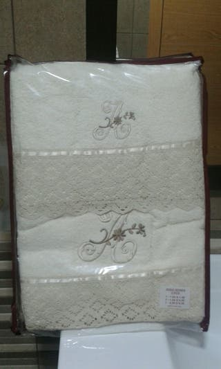 juego toallas
