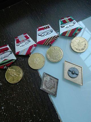 Medallas ejercito