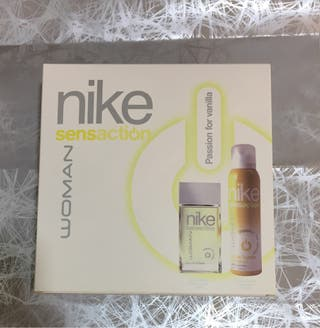 NIKE Set Sensaction para Mujer con Eau de Toilette 50 ml y