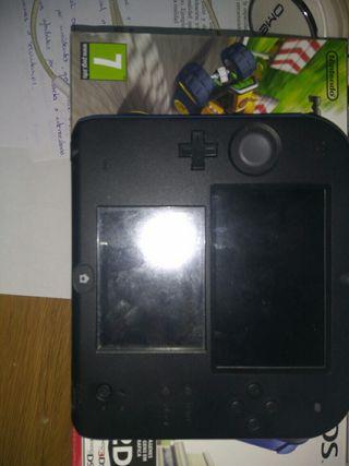 Nintendo 2ds Negra