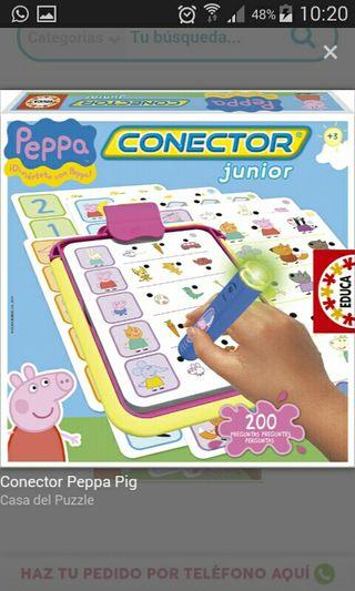 Juego conecta Pepa Pig