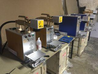 Marcadora laser fibra