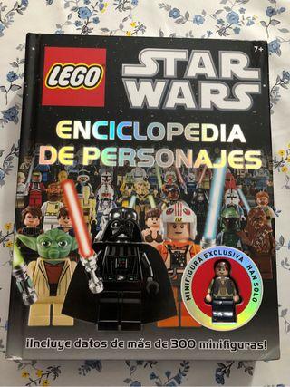 Libro lego star war con figura